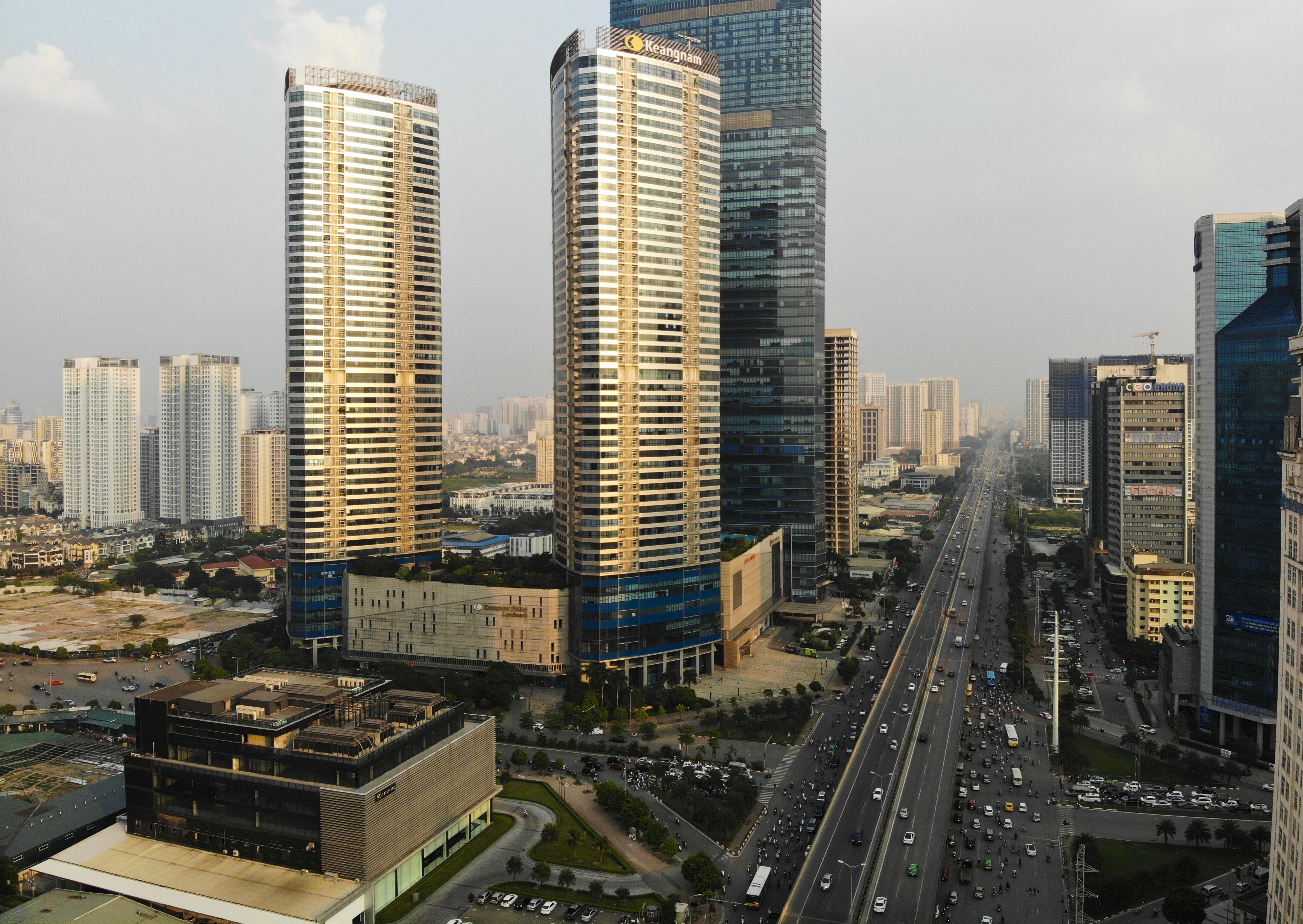 Những hình ảnh của 4 tòa nhà cao nhất Hà Nội nhìn từ trên cao - 9