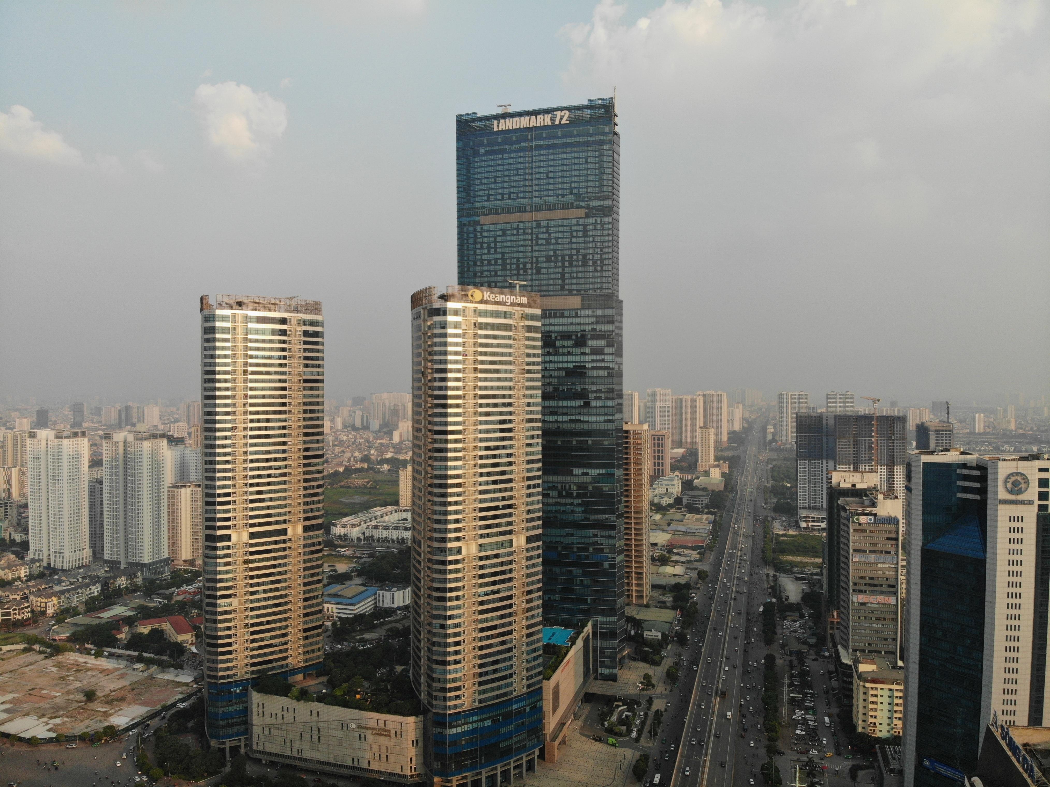 Những hình ảnh của 4 tòa nhà cao nhất Hà Nội nhìn từ trên cao - 10