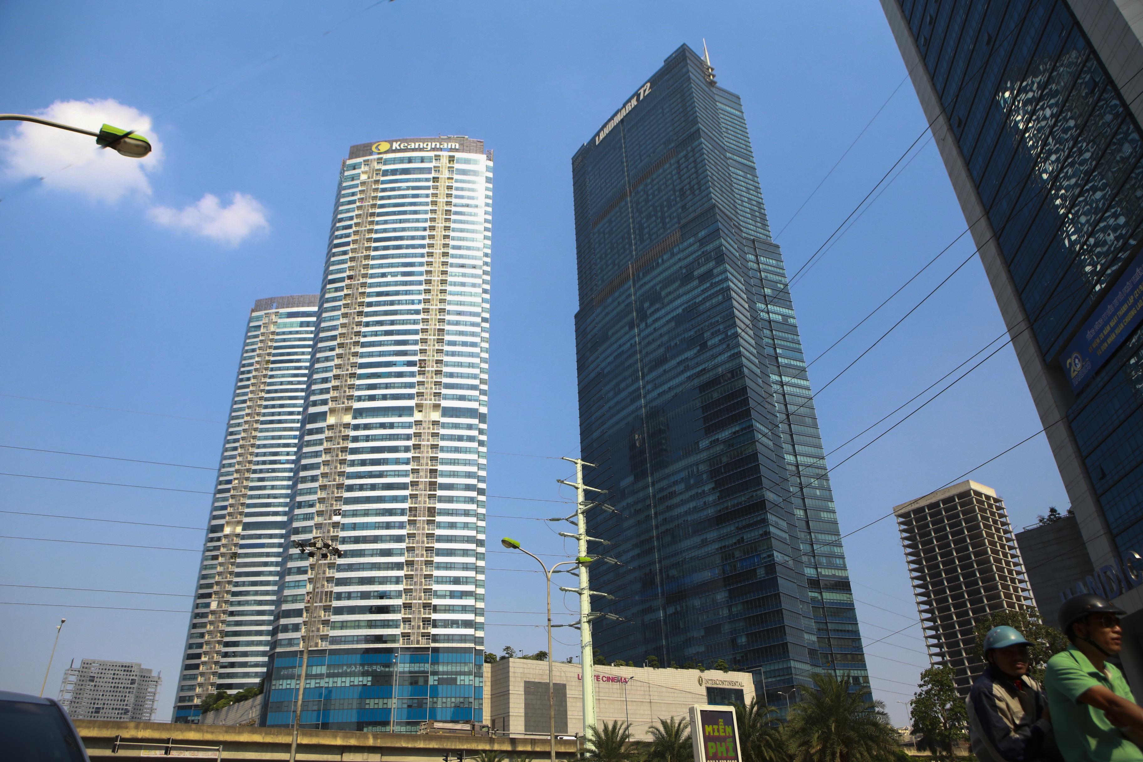 Những hình ảnh của 4 tòa nhà cao nhất Hà Nội nhìn từ trên cao - 3