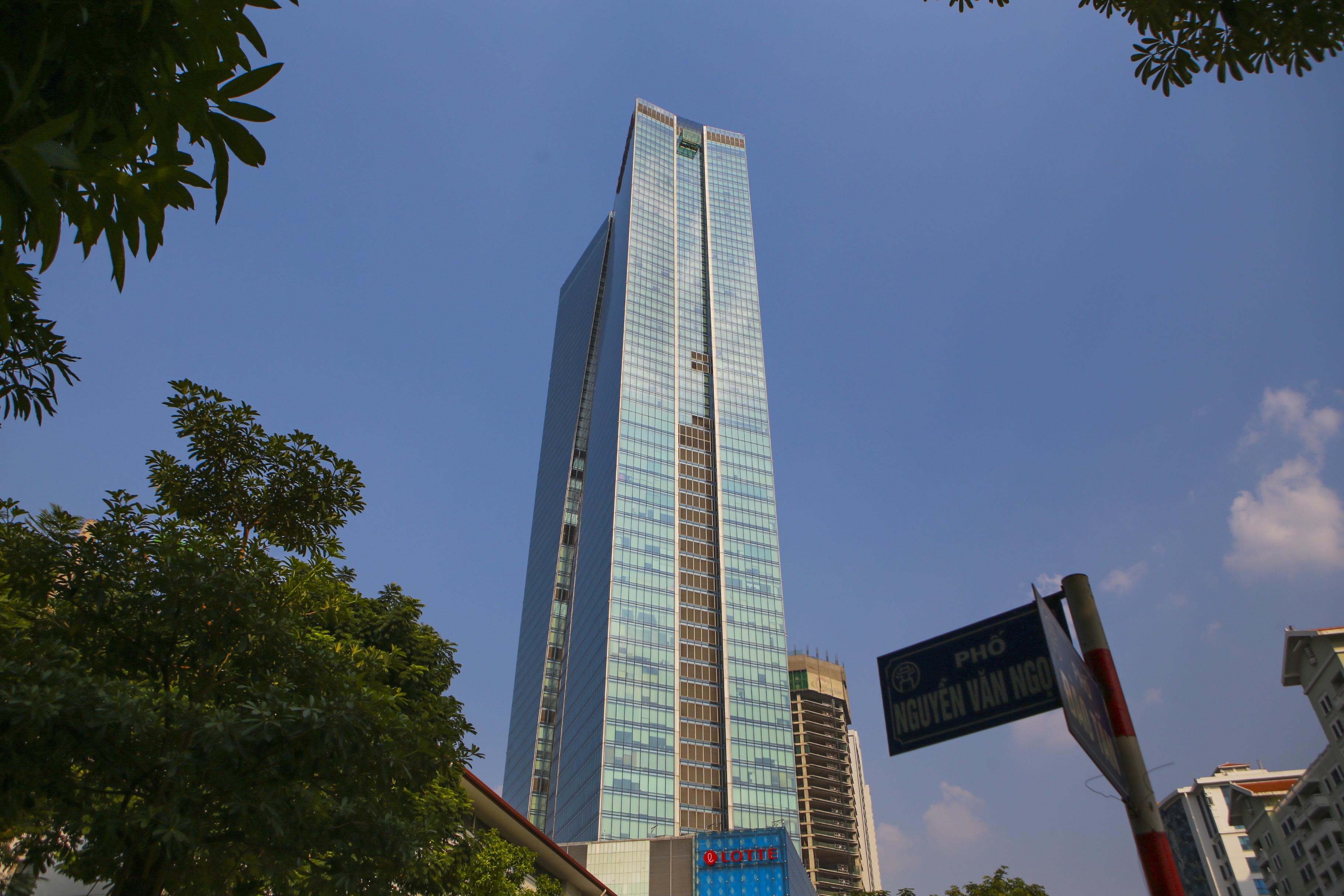 Những hình ảnh của 4 tòa nhà cao nhất Hà Nội nhìn từ trên cao - 8