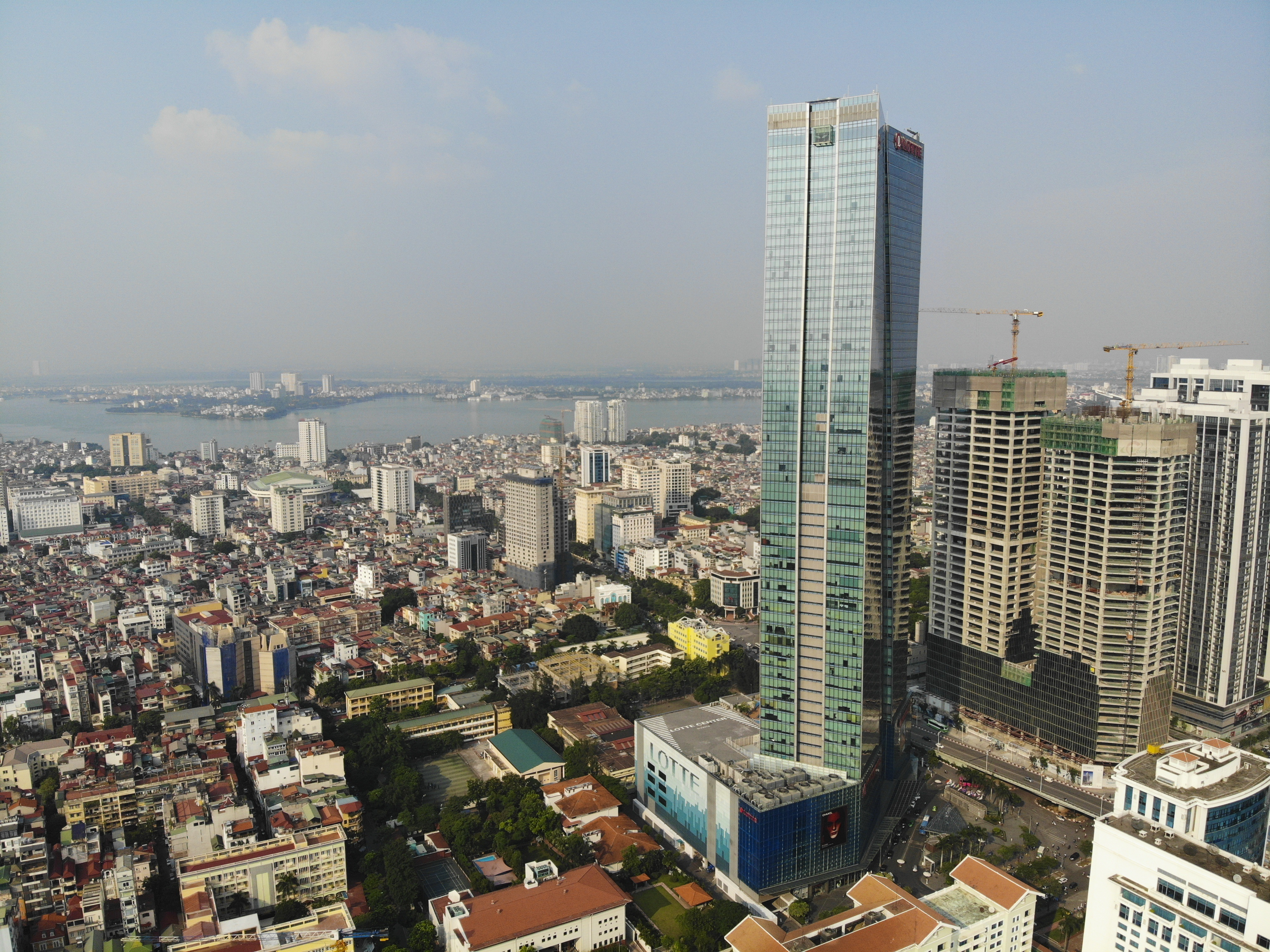 Những hình ảnh của 4 tòa nhà cao nhất Hà Nội nhìn từ trên cao - 4