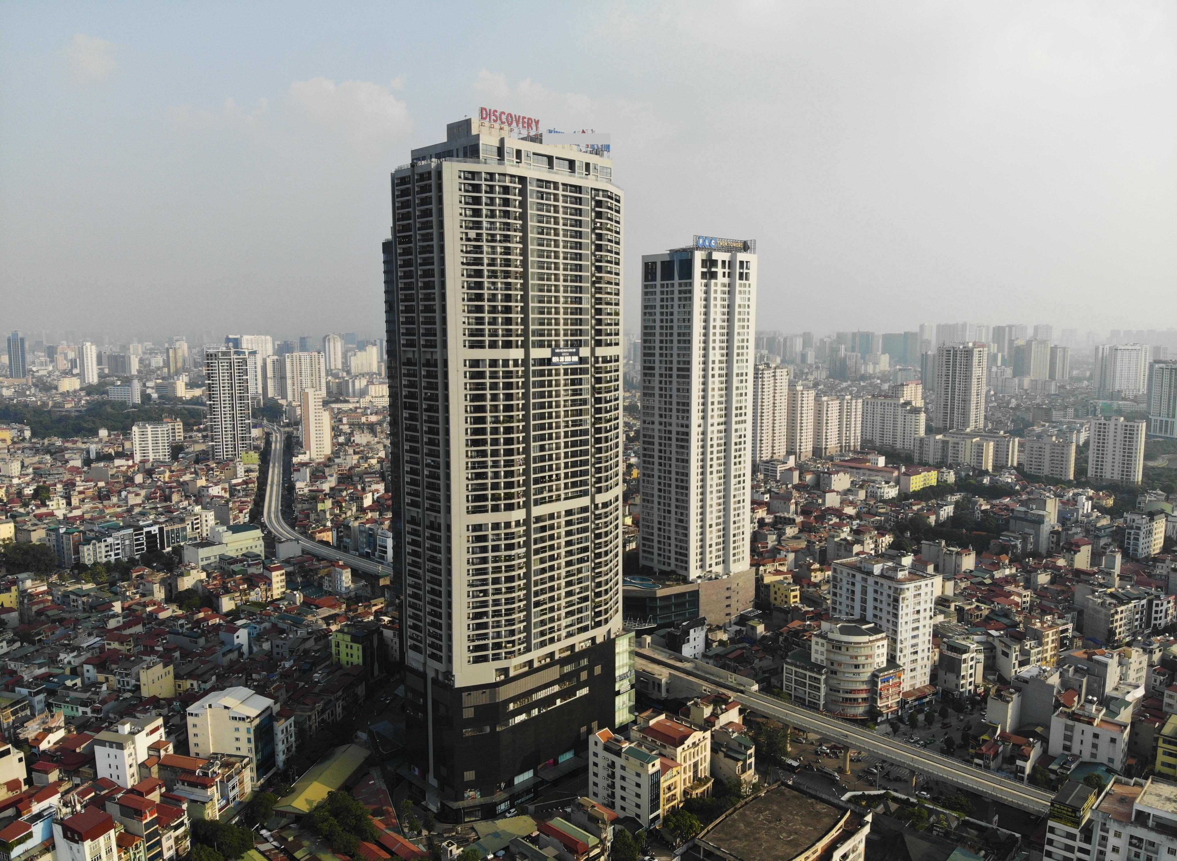Những hình ảnh của 4 tòa nhà cao nhất Hà Nội nhìn từ trên cao - 11