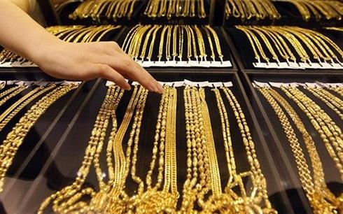 Chốt phiên giao dịch hôm nay 1/1/2019, giá vàng SJC được DOJI niêm yết ở mức 36,45 triệu đồng/lượng (mua vào) và 36,55 triệu đồng/lượng (bán ra).