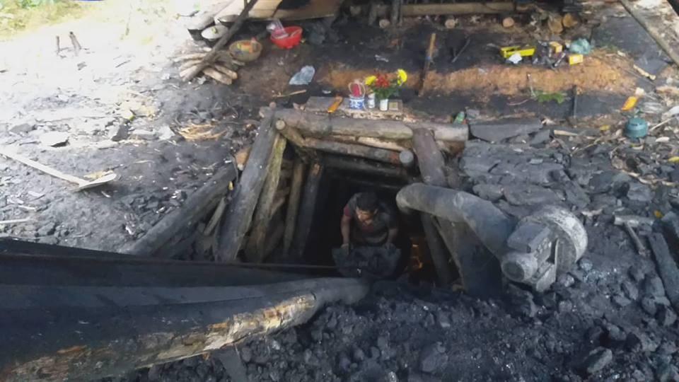 Công an tập trung làm rõ nhóm đối tượng khai thác than thổ phỉ - Ảnh 2.