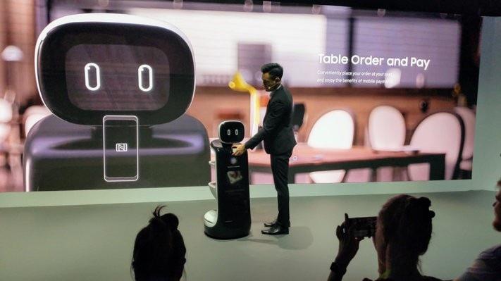 """Samsung mang """"binh đoàn"""" robot đến trình diễn tại CES 2019 - Ảnh 4."""