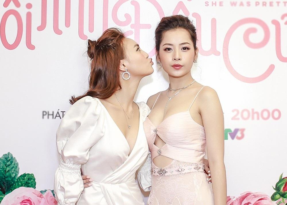"""Chi Pu và Ninh Dương Lan Ngọc gọi nhau """"vợ - chồng"""", không ngại thể hiện tình cảm trước đám đông - Ảnh 2."""