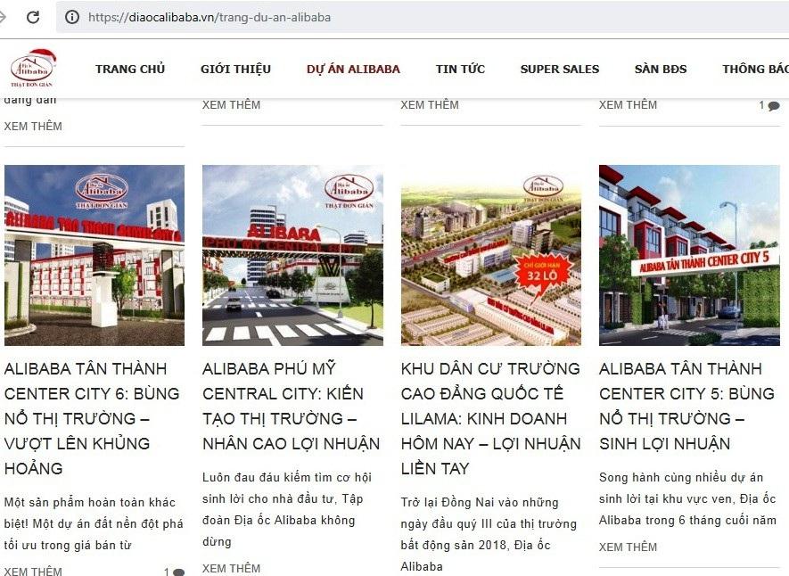 Tổng Cục Quản lý đất đai đề nghị thanh, kiểm tra Địa ốc Alibaba - Ảnh 2.