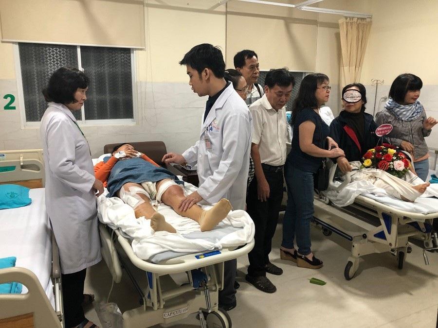 3 người Việt bị đánh bom ở Ai Cập về nước điều trị - Ảnh 1.