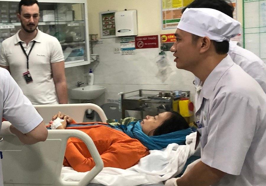 3 người Việt bị đánh bom ở Ai Cập về nước điều trị - Ảnh 2.