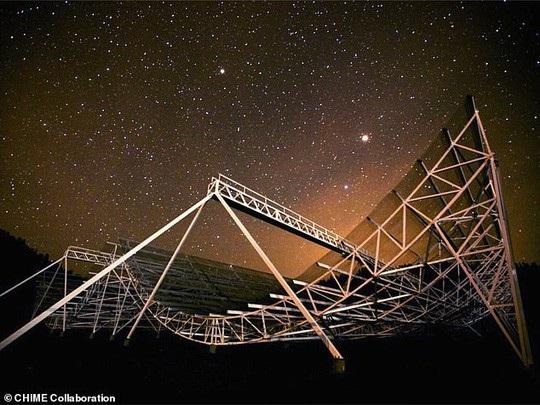 Bùng phát tín hiệu vô tuyến bí ẩn cách xa trái đất 1,5 tỉ năm ánh sáng - Ảnh 1.