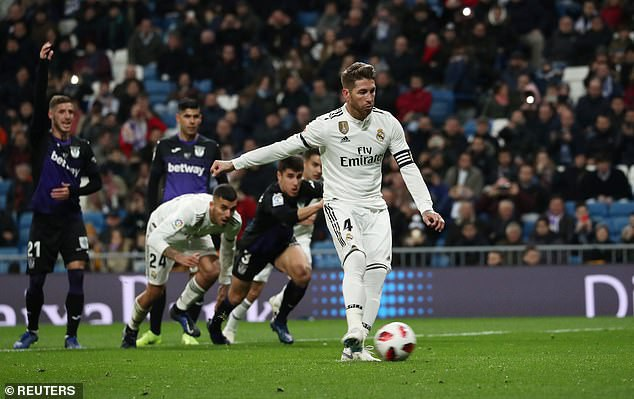 Ramos đạt cột mốc 100 bàn, Real Madrid dễ dàng đè bẹp Leganes - Ảnh 2.