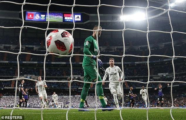 Ramos đạt cột mốc 100 bàn, Real Madrid dễ dàng đè bẹp Leganes - Ảnh 4.