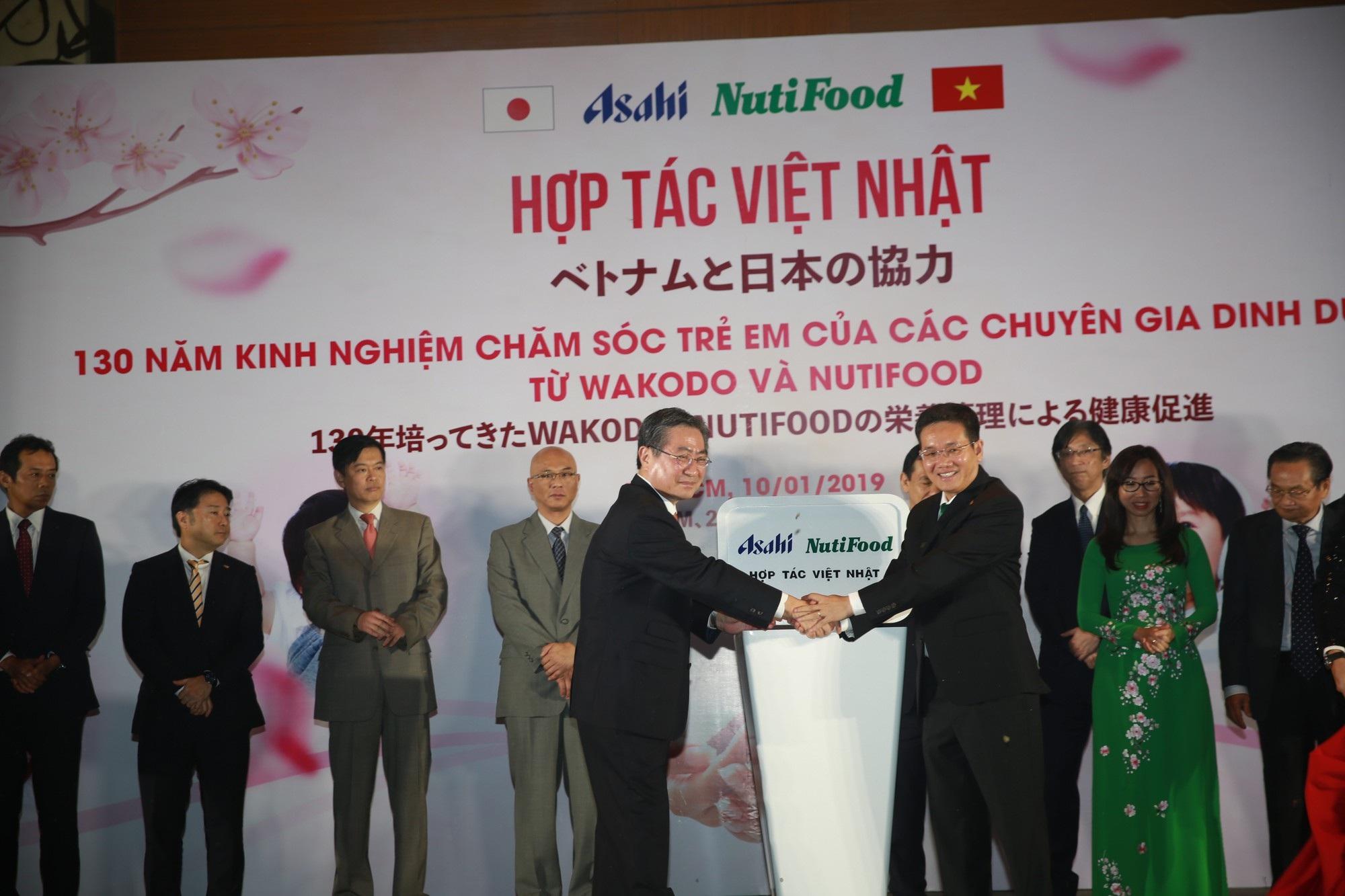 Trẻ em Việt Nam có cơ hội sử dụng sản phẩm dinh dưỡng hàng đầu Nhật Bản - Ảnh 1.