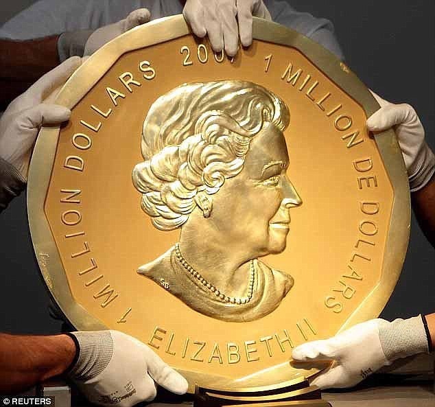 Đức xử nghi phạm ăn trộm đồng xu vàng nặng 100kg - Ảnh 1.