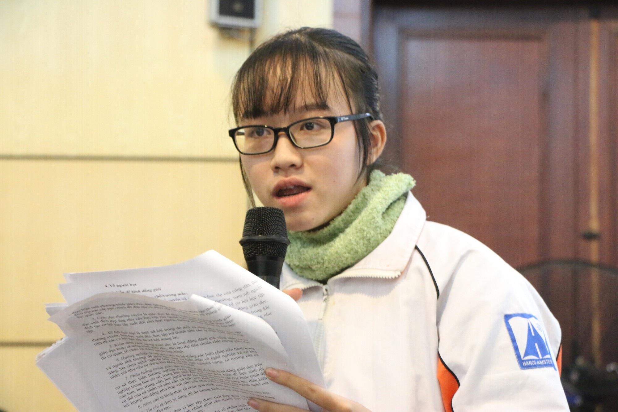 Học sinh đề xuất tư nhân hóa trường chuyên - Ảnh 2.