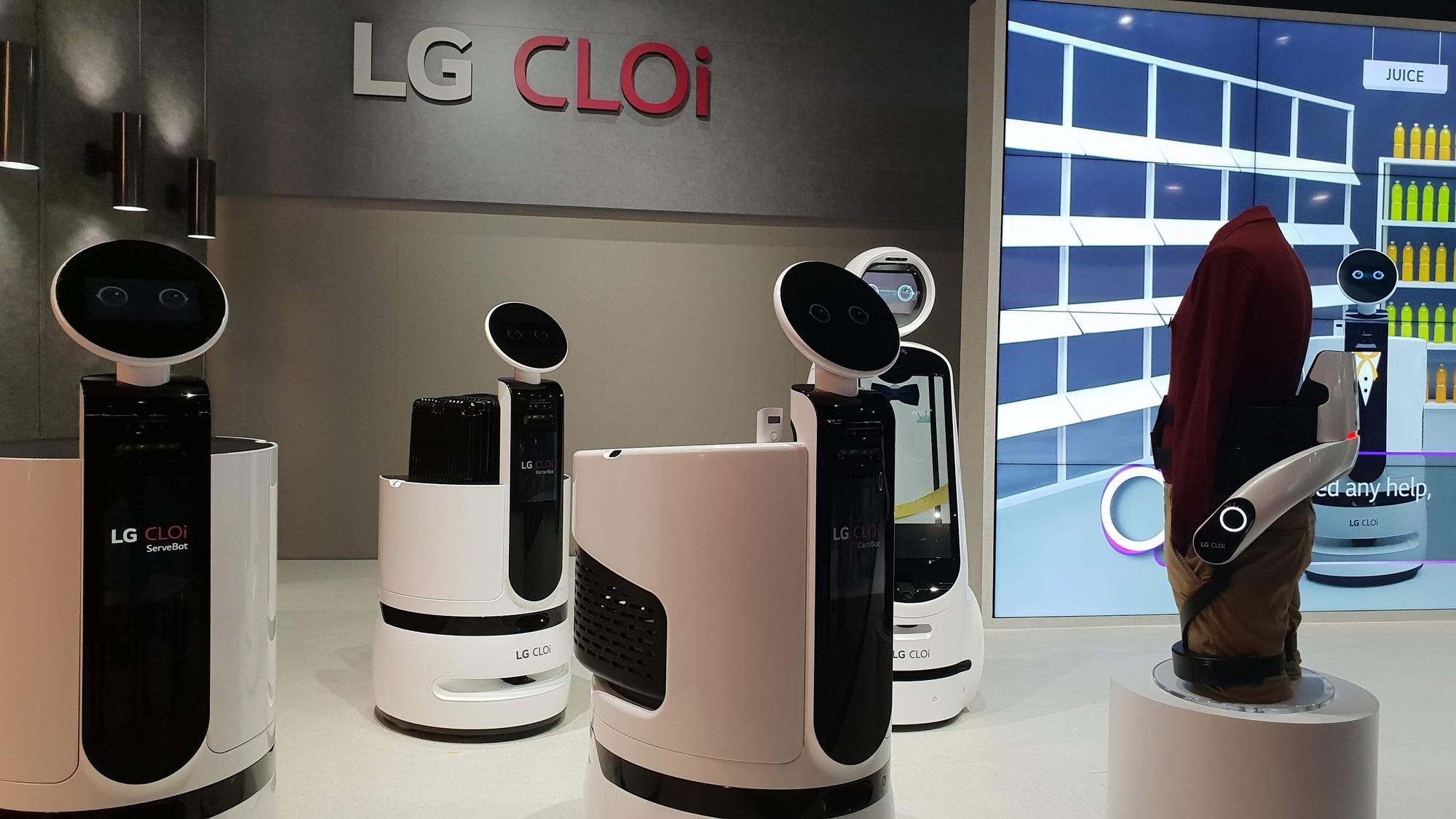 Samsung và LG sắp bước vào cuộc chiến robot giúp việc - Ảnh 1.