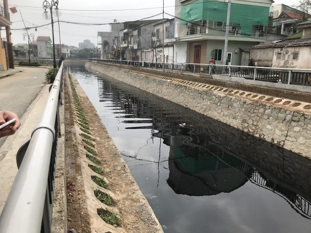 Cận cảnh đoạn kênh dày đặc cá chết tra tấn người dân tại TP Vinh! - Ảnh 9.