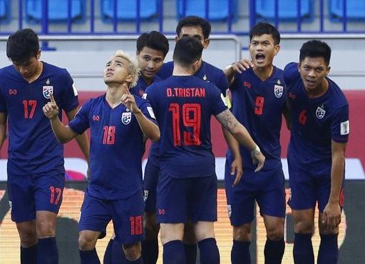Những khoảnh khắc chiến thắng ngọt ngào của Thái Lan trước Bahrain - Ảnh 9.