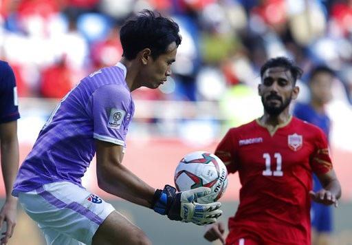 Những khoảnh khắc chiến thắng ngọt ngào của Thái Lan trước Bahrain - Ảnh 12.