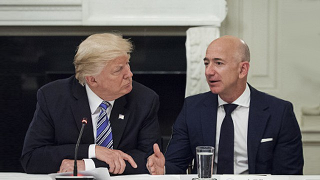 Ông Trump bị nghi liên quan tới vụ phanh phui chuyện ngoại tình của tỷ phú Amazon - Ảnh 2.