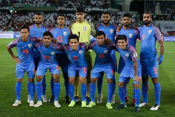 Nhìn lại trận thua đáng tiếc của Ấn Độ trước UAE - Ảnh 1.