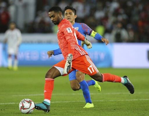 Nhìn lại trận thua đáng tiếc của Ấn Độ trước UAE - Ảnh 11.