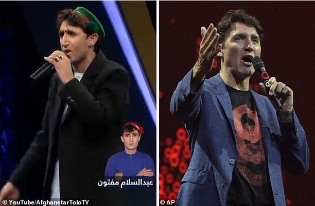 Nam ca sĩ bất ngờ nổi tiếng vì giống... Thủ tướng Canada - Ảnh 3.