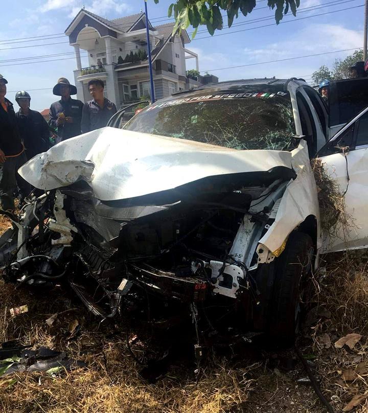 Nghi án ô tô đua tốc độ, tông chết người bán dưa hấu bên đường - Ảnh 2.