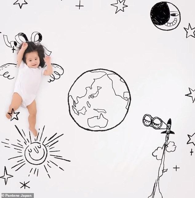 Em bé một tuổi có mái tóc bồng bềnh trở thành... gương mặt quảng cáo gây sốt - Ảnh 5.