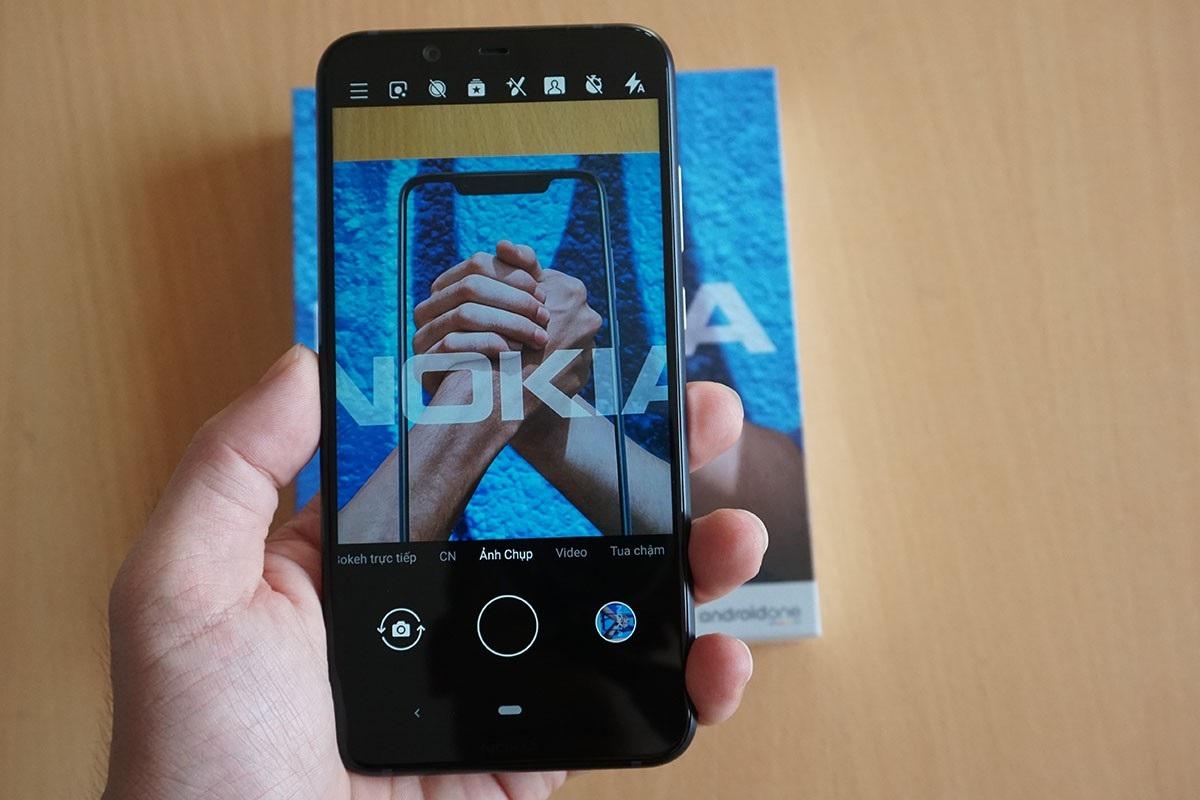 Đập hộp Nokia 8.1 - smartphone chạy Snapdragon 710 có giá rẻ nhất tại Việt Nam - Ảnh 7.