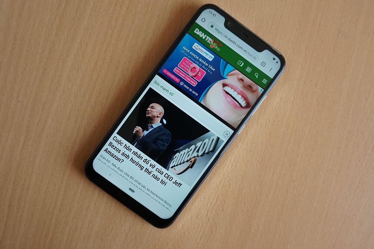 Đập hộp Nokia 8.1 - smartphone chạy Snapdragon 710 có giá rẻ nhất tại Việt Nam - Ảnh 9.