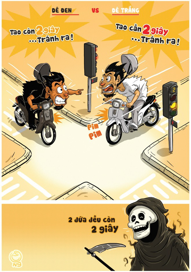 """""""Nóng"""" vấn đề văn hoá ứng xử trên mạng xã hội trong tranh biếm họa - Ảnh 2."""
