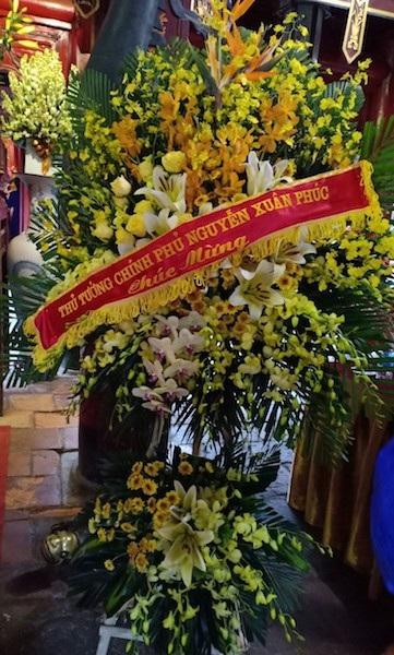 Long trọng tưởng niệm 345 năm ngày sinh và trao tượng đồng danh nhân Nguyễn Quý Ân - Ảnh 2.