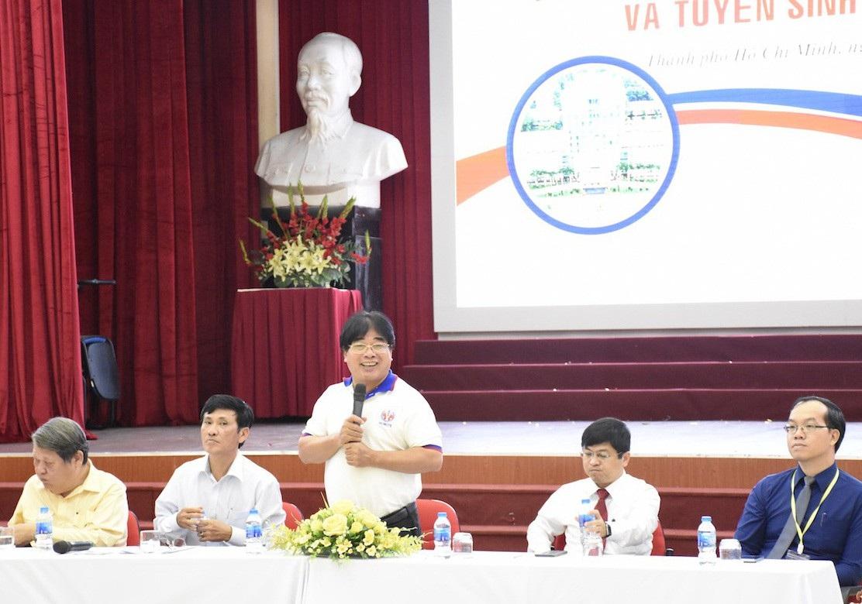 Trường cho phép học sinh lớp 12 học đại học - Ảnh 2.