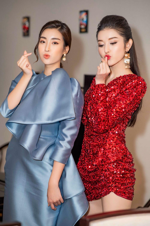 """Á hậu Huyền My gợi cảm """"đọ dáng"""" cùng Hoa hậu Mỹ Linh - Ảnh 6."""