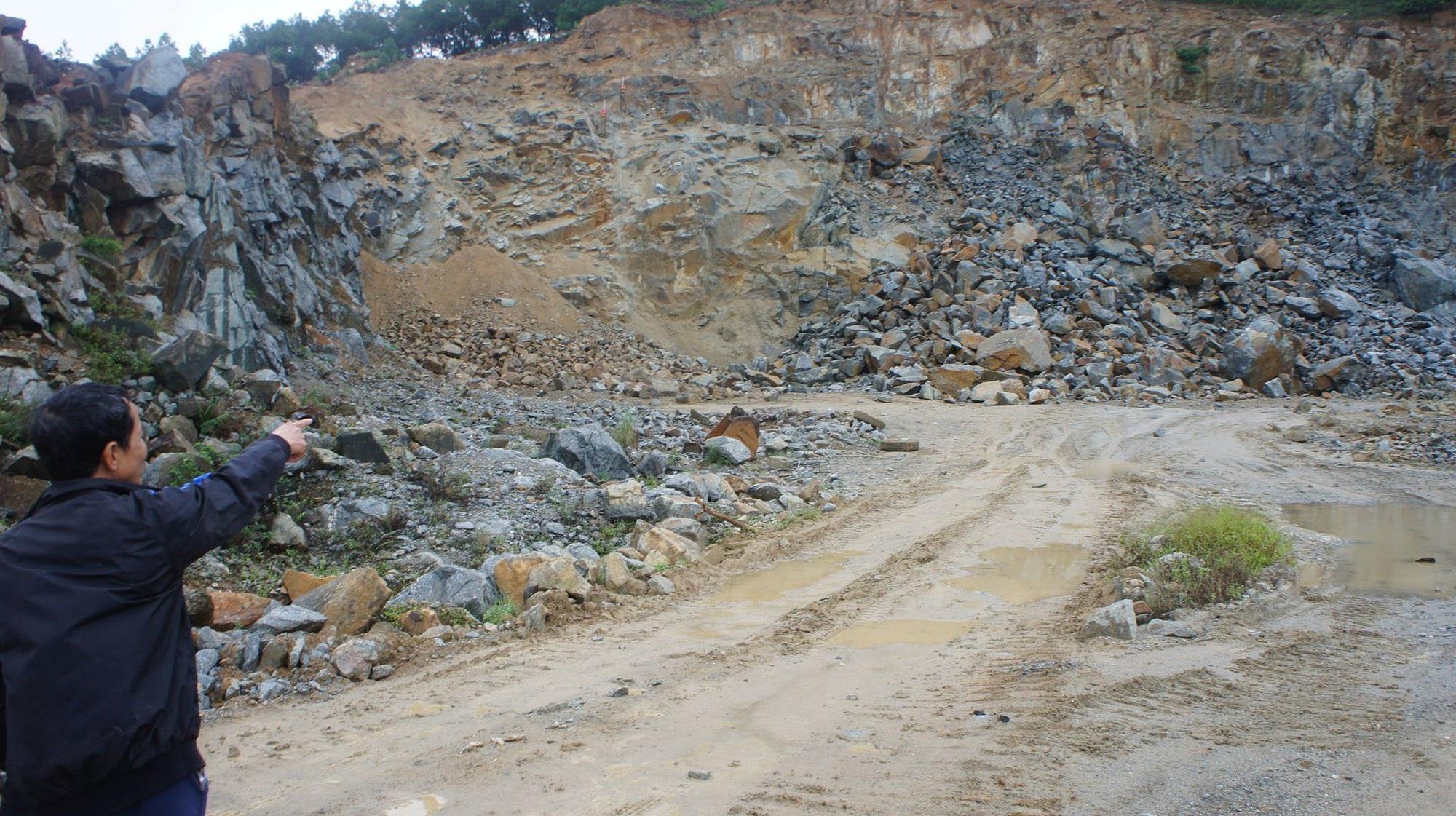 """Hà Tĩnh: Tạm đình chỉ việc nổ mìn tại mỏ đá """"hành dân"""" - Ảnh 2."""