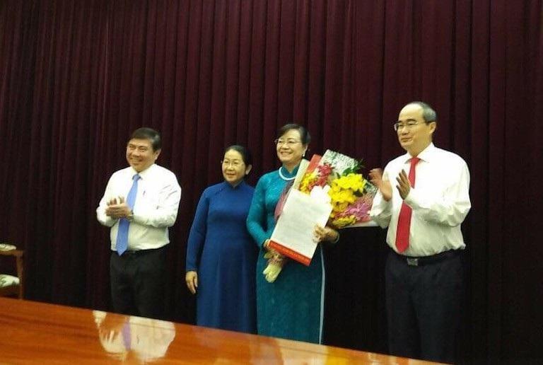 TPHCM: Bà Nguyễn Thị Quyết Tâm nhận quyết định nghỉ hưu - Ảnh 1.