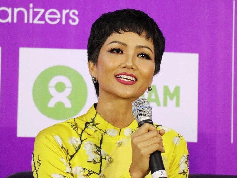 """Hoa hậu H'Hen Niê: """"Giáo dục cần song hành với hạnh phúc và thực lực"""" - Ảnh 1."""