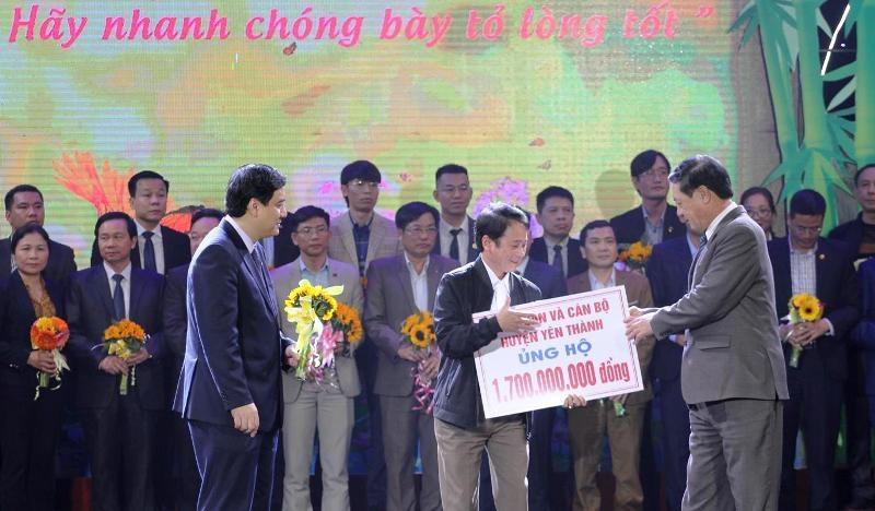 Nghệ An: Gần 64 tỷ đồng giúp đỡ người nghèo đón Tết - Ảnh 3.