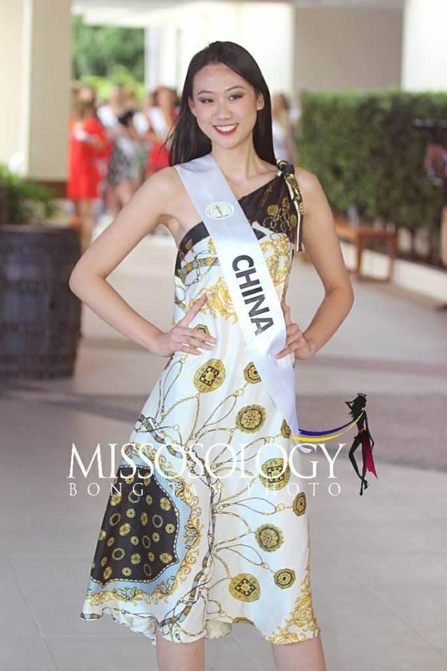 Đọ nhan sắc của Ngân Anh với thí sinh của cuộc thi Hoa hậu liên lục địa 2018 - Ảnh 7.