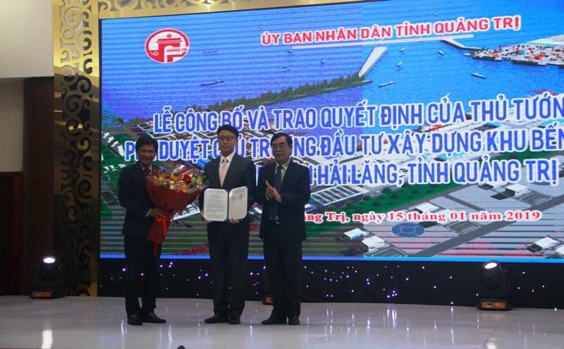 Công bố quyết định của Thủ tướng Chính phủ về xây dựng Khu bến cảng Mỹ Thủy - Ảnh 1.