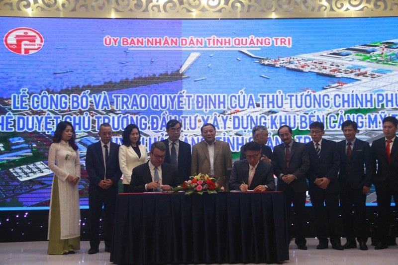 Công bố quyết định của Thủ tướng Chính phủ về xây dựng Khu bến cảng Mỹ Thủy - Ảnh 2.