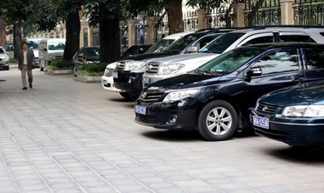 Duy trì định mức xe công phục vụ lãnh đạo - Ảnh 1.