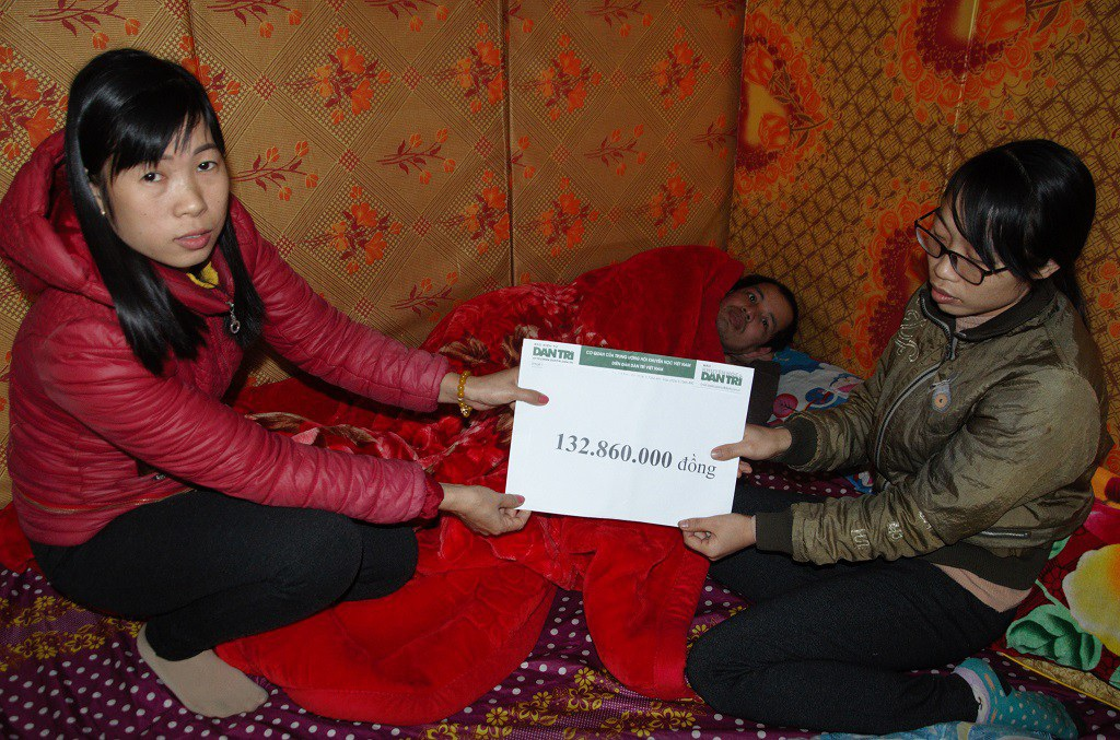 Hơn 132 triệu đồng đến với gia đình em Mai Thị Chiên - Ảnh 4.