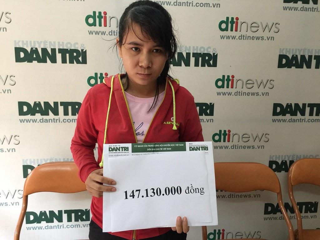 Bạn đọc Dân trí giúp bé Bảo Anh bị bại não hơn 147 triệu đồng - Ảnh 2.