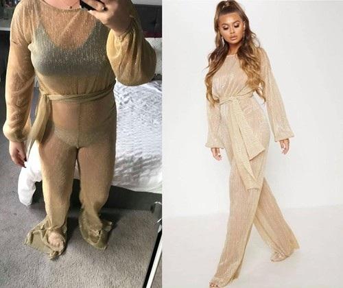 Cô gái hết hồn khi diện thử váy xẻ được mua online - Ảnh 4.