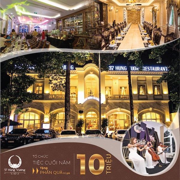 Nhà hàng 37A Hùng Vương - Điểm đến sang trọng và ấm cúng cho những bữa tiệc cuối năm và gặp mặt đầu năm - Ảnh 3.