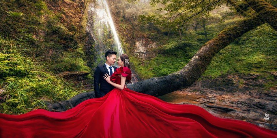 Ảnh cưới long lanh từ Nam ra Bắc của cô dâu Nam Định đeo vàng trĩu cổ, ở lâu đài 7 tầng - Ảnh 13.