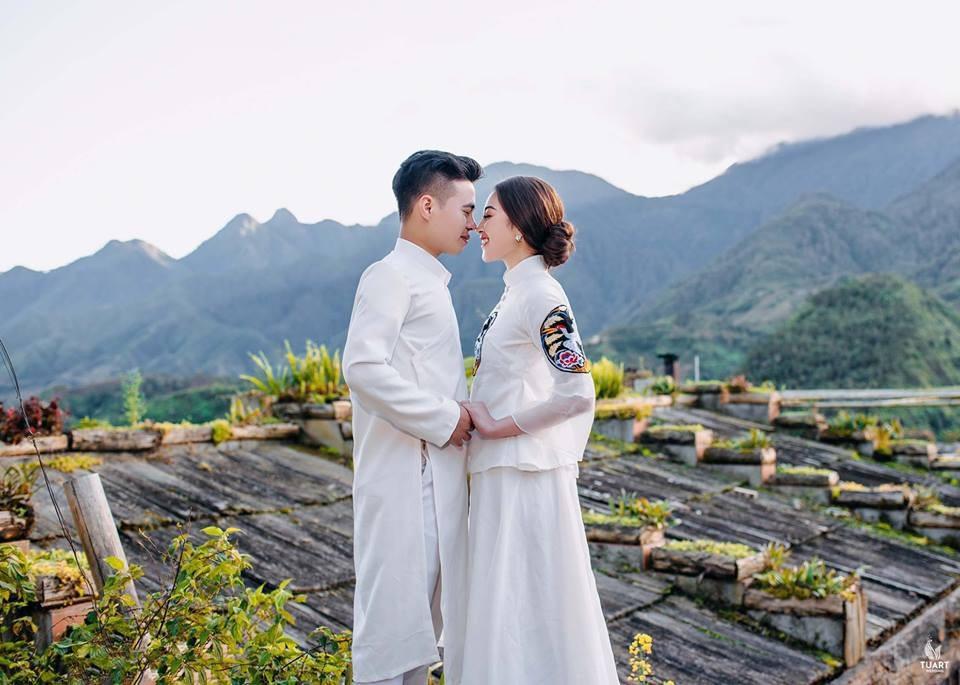 Ảnh cưới long lanh từ Nam ra Bắc của cô dâu Nam Định đeo vàng trĩu cổ, ở lâu đài 7 tầng - Ảnh 9.