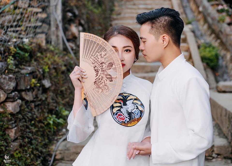 Ảnh cưới long lanh từ Nam ra Bắc của cô dâu Nam Định đeo vàng trĩu cổ, ở lâu đài 7 tầng - Ảnh 8.